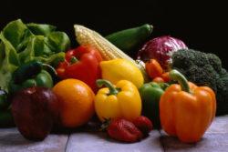 パプリカなど野菜
